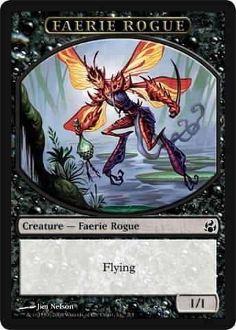 Magic: the Gathering - Faerie Rogue Token - Morningtide