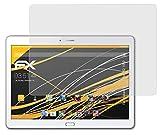 atFolix Panzerfolie kompatibel mit Huawei MediaPad M2 10.0 Schutzfolie, entspiegelnde & stoßdämpfende FX Folie (2X)