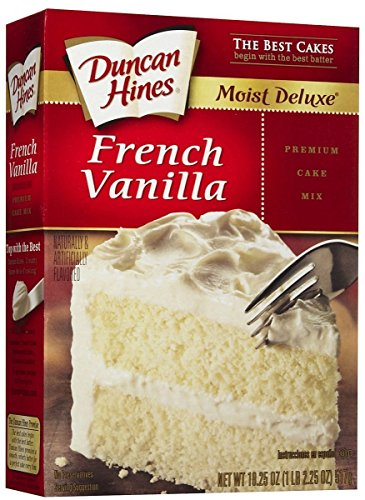 Duncan Hines Signature French Vanilla Cake