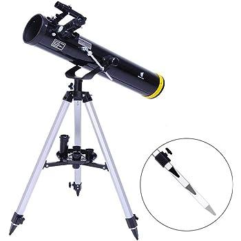 Amazon.com : GEERTOP Portable Reflector Telescope 76mm Aperture