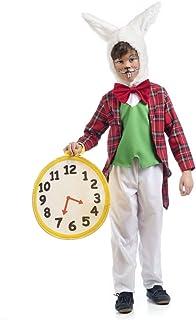 """Orologio da taschino gigante coniglio bianco Alice nel paese delle meraviglie orologio giocattolo Fancy Dress 8/"""""""