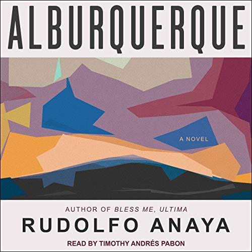 Alburquerque audiobook cover art