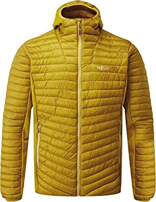 Rab Mens Cirrus Flex Hoody Fast Drying Warm Versatile Hooded Jacket Activewear Mountain Hiking Use