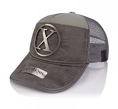 Xtress Exclusive Gorra gris de diseño para hombre y mujer.