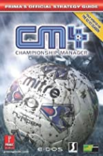 Championship Manager 4 - Official Strategy Guide de Prima Development
