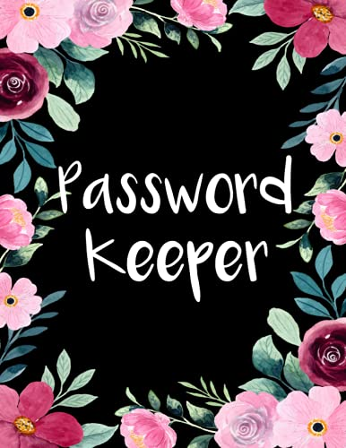 password keeper: Alphabetical Small Password Organizer Note Book with A-Z Tabs. Record and Keep Track of Passwords, Usernames, W