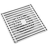 PrimeMatik - Sumidero 15x15cm con Rejilla extraíble de...