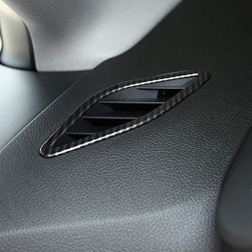 Plastique ABS Tableau de Bord Couvercle du Cadre de Sortie d'air de Sortie d'air pour Pilote de poignée Gauche LHD série 2 F45 F46 218i 220i 2015-2018 en Fibre de Carbone
