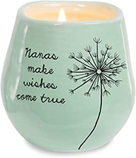 Pavilion Gift Company Nanas Make Wishes Come True Ceramic Soy Candle
