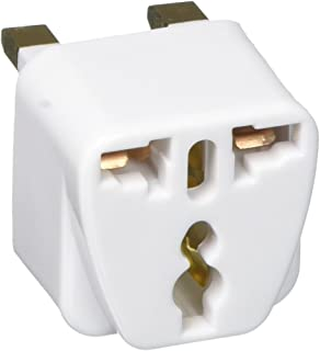 Design Go UK Grounded Adaptor, White, One Size