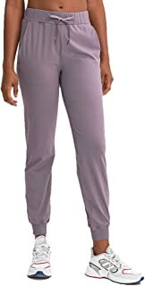 Sportspace Womens Yoga Pants Workout Sweatpants Active Drawstring Joggers Running with Pockets