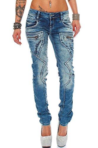 Cipo & Baxx Damen Jeans Modell-33 WD322 W31/L32