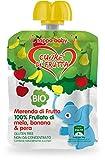 Cuore di Frutta Frullato di Frutta, Mela Banana e Pera12 Unità - 1 Kg...