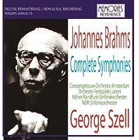 ジョージ・セル指揮 ブラームス:交響曲全集