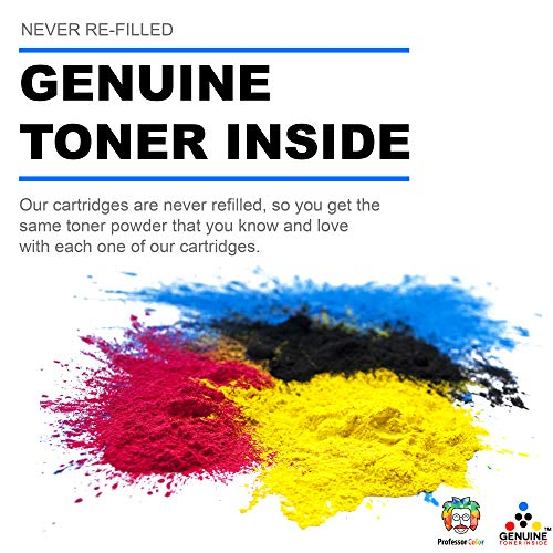 Professor Color Re-Coded OEM Toner Cartridge Replacement for Xerox Phaser 6600 and Xerox WorkCentre 6605 | 106R02228 - High Yield Black (8,000 Pages) Photo #2