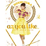 井口裕香/「2nd LIVE TOUR 2016 az you like...」LIVE DVD<初回仕様版>