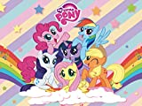 Pony Backdrop   My Little Pony Banner   For Girl   Birthday   Baby Shower   Friendship Collection   Party Supplies   Background