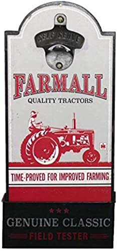 comprar nuevo barato IH Farmall Farmall Farmall Tractors Bottle Opener Wooden Sign by Open Road Signs  compra limitada
