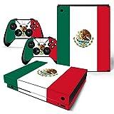 XBOX ONE X Skin Design Foils Pegatina Set - Mexico Motivo