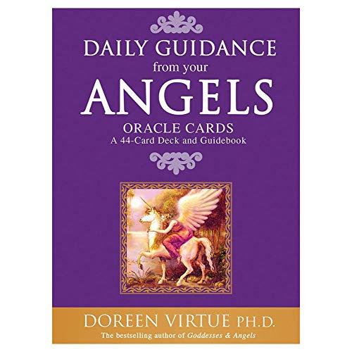 FENGHE Cartas de Tarot 44 Hojas Guía Diaria De Tus Ángeles Oracle Tarot Cards Versión En Inglés El Superventas Oracle Card Deck Dropshipping
