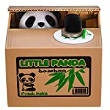 Panda Stealing Money Bank, Piggy Bank for Kids, Coin Bank for Money Saving, Automatic Stealing Money with English Speaking, Creative Gift