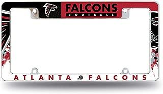 Rico Industries Falcons All Over Chrome Frame