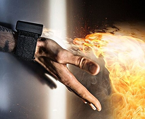 Ellusionist Pyro Mini Fireshooter Magic Wrist Device Shoots Fireballs from Your Empty Hands - Less Bulk. More Fire.