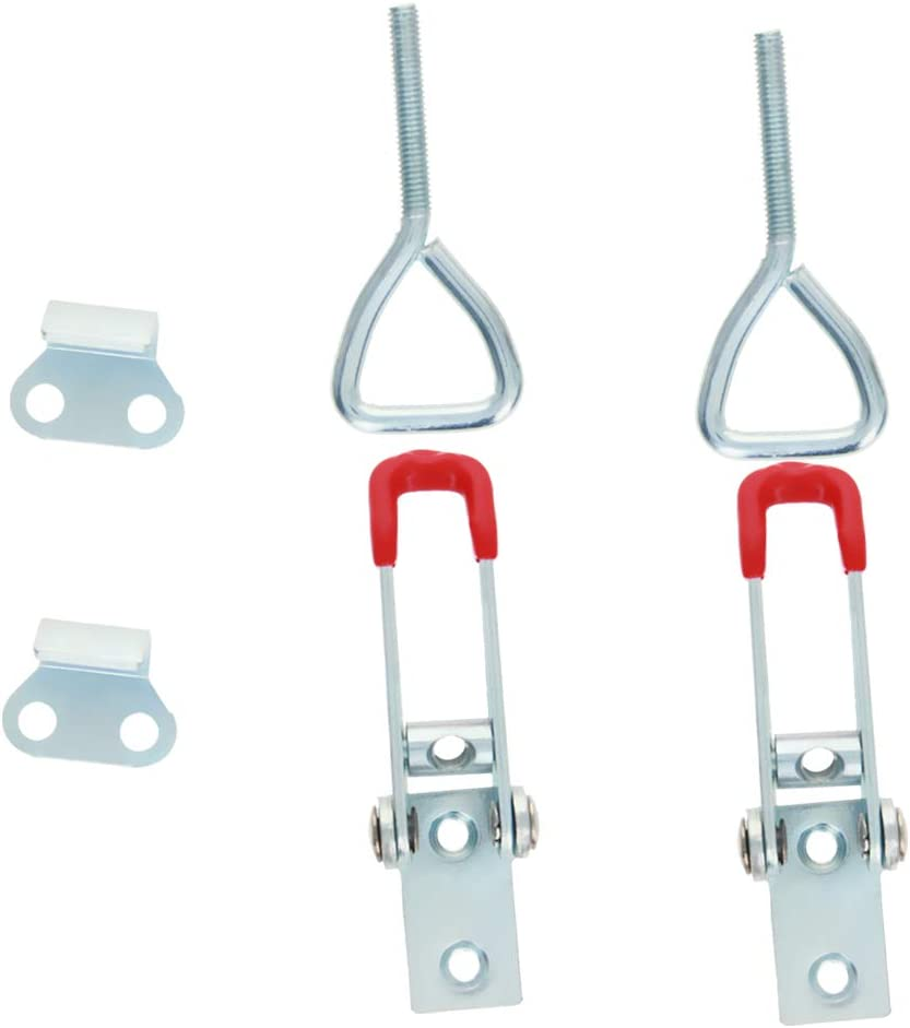 Utoolmart Adjustable Toggle Clamp, Pull Button Quick-Release Tri
