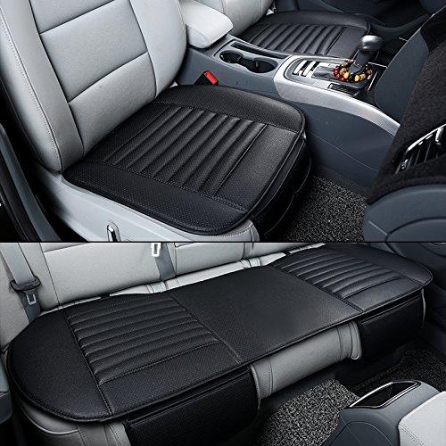 HONCENMAX Tappetino per Auto Cuscino per Tappetino - Protezione per Sedile Auto Traspirante - Ricambi Auto per Interni Auto - Coprisedile Anteriore 2PCS e Coprisedile Posteriore 1PCS