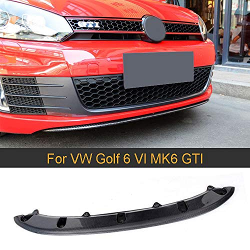 BAISHENG Carbon Auto Frontschürze Lip Spoiler, für VW Golf 6 MK6 GTI 20102013