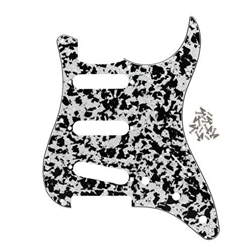 IKN 11 Agujeros Tornillo de montaje Guitarra Pickguard SSS Scratch Guards para...