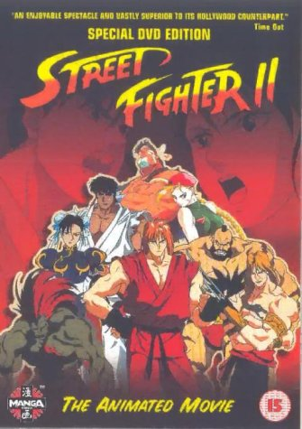 Street Fighter 2 The Animated Movie 1994 Dvd Buy Online In
