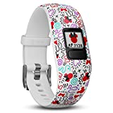 Garmin vivofit Jr. 2 - Disney Minnie Mouse Fitness Activity Tracker for Kids - Adjustable Band - Multicolour