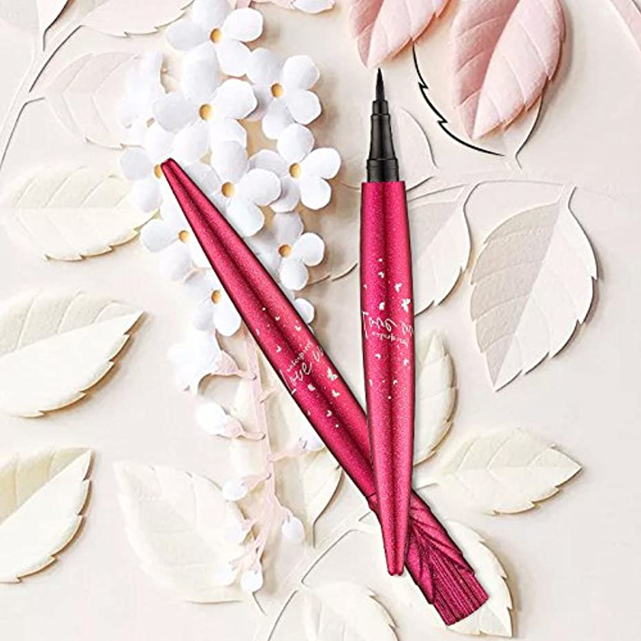 樫の木モールス信号リラックス美容ブラック防水アイライナーリキッドアイライナーペン鉛筆メイク化粧品新しい
