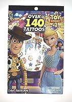 Disney Pixar (ディズニー ピクサー) Toy Story 4 (トイ・ストーリー) Over 140 Tattoos Stickers (タトゥーシール) [並行輸入品]