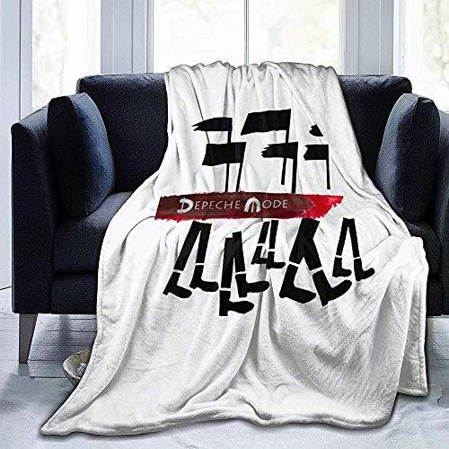 Nat Abra Depeche Mode Flanell Fleece Throw Blanket Bedruckt Ultra Soft Velvet Premium Bett Leicht Bequem Warm