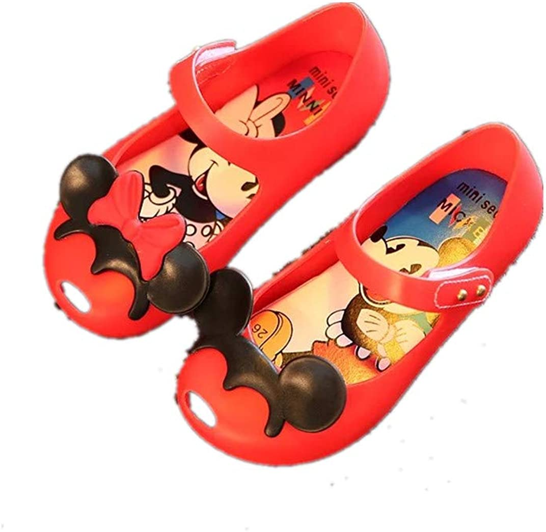 Girl Mickey Mouse Jelly Shoes Rubber