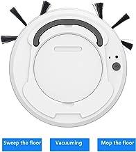 Blanco Succi/ón 1500pa Dise/ño para Pisos Duros y Alfombra Bater/ía 2400mAh 30x4cm Super Delgado Gfone 3 en 1 USB Robot Aspirador de Limpieza de Hogar Robot