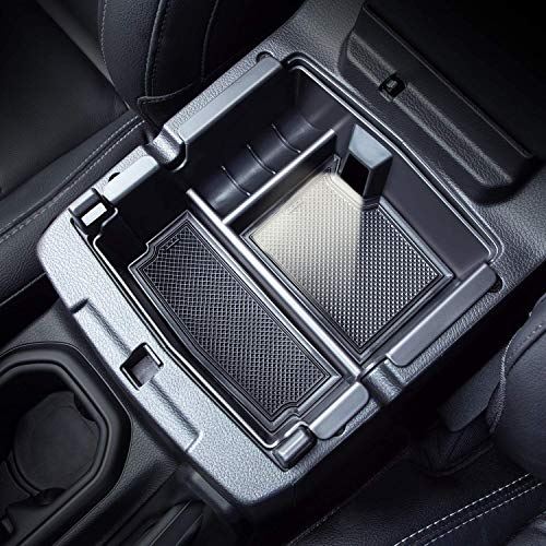 Compatible with Center Console Organizer Tray Wrangler JL/JLU 2018 2019 2020 2021 and Gladiator JT Truck 2020 2021 Insert Armrest Accessories (Not for JK/JKU)