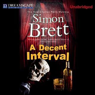 A Decent Interval audiobook cover art