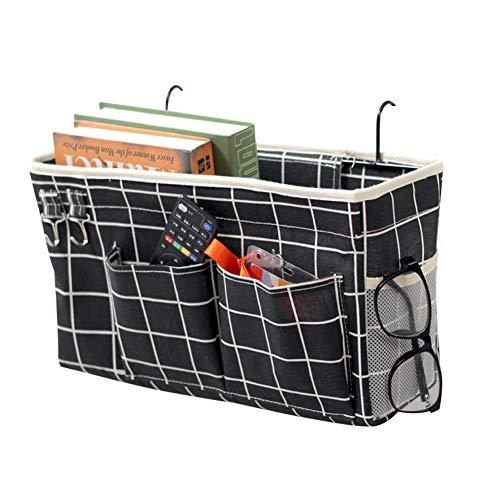Loghot Bedside Caddy/Bedside Storage Bag Hanging Organizer