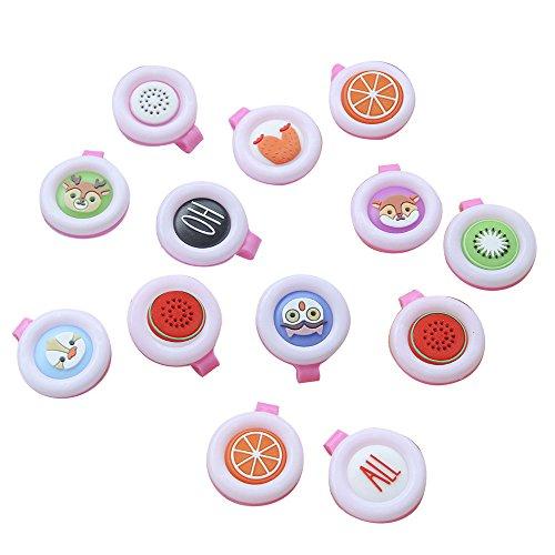 AfazfaMosquito Repellent Button Baby Kids Buckle Outdoor Anti-Mosquito Repellent (Random)