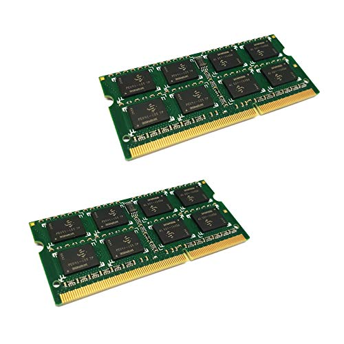 dekoelektropunktde Compatible con IBM Lenovo ThinkPad T410s | 8GB Kit Dual Channel (2X 4GB) Ram Memoria SODIMM PC3 DDR3 para