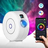 Star Light Galaxy Projector for Bedroom | Alexa, Google Assistant App Controlled Adjustable Brightness 16.7m Color Options, Timer Modes | Starry Nebula Clouds Night Sky for Kids