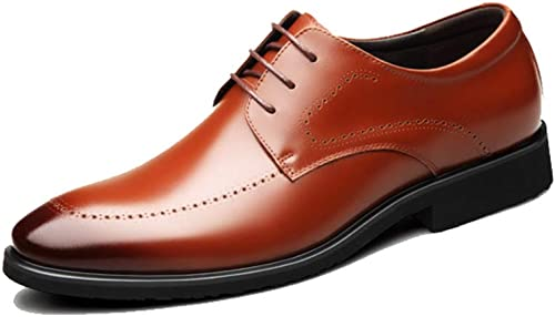 Derss Brogues Business Leder Schuhe Herren Brogue Lace-Up Schuh Hochzeit komfortable Büro Floral Vintage Casual Flache Schuhe