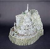 FJKYF Anime Spielzeug[Temila] Herr Der Ringe Spielzeug Die Hobbit Actionfiguren Minas Tirith Modell Statue Spielzeug Modell Kupfer Nachahmung Neuheit Aschenbecher 14cm