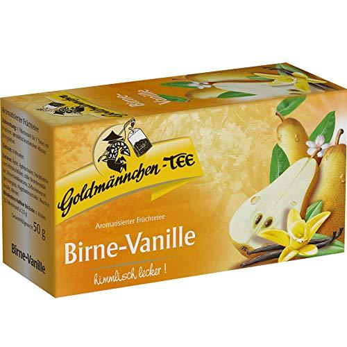 Birne Vanille Tee Goldmännchen - nostalgische DDR Kultprodukte - Ostprodukte