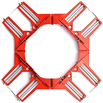 SHOOTING コーナー クランプ 4個セット 木工 溶接 直角 90度 最大固定幅74mm