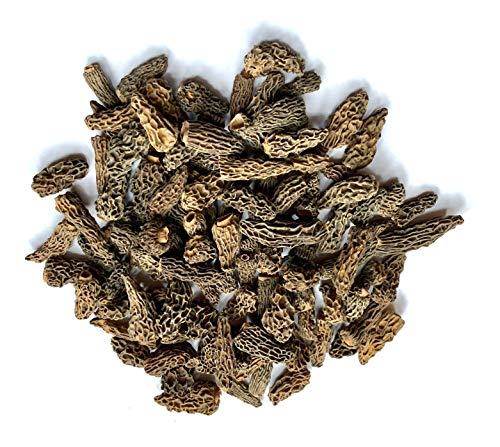 Spitzmorcheln conica spezial Minis, ohne Steile, 1A Ware, getrocknet (100g)