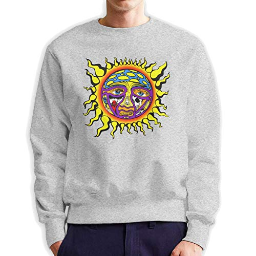 The Story of Sublimes Iconic Sun Logo Sweater Men Sweatshirt Gray